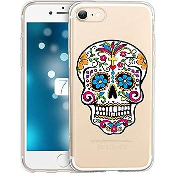 coque iphone 8 plus tete de mort