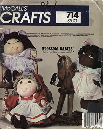 McCall's 8866 Soft-Sculptured Dolls 23