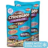 MARS Chocolate Minis Size Candy Variety Mix 40-Ounce Bag (Pack of 2)