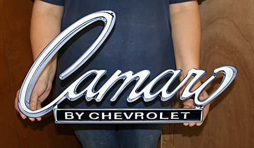 Chevrolet Camaro Metal Sign 1968-69 Header Deck 24