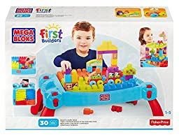 Mega Bloks Build \'n Learn Table Building Set