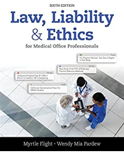 Law liability and ethics for medical office professionals law law liability and ethics for medical office professionals law liability and fandeluxe Gallery