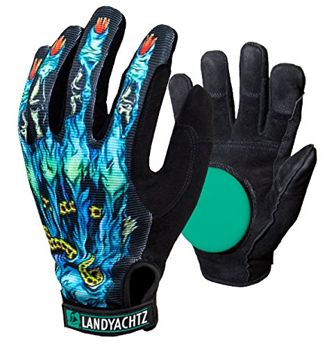 Landyachtz Freeride Zombie Slide Glove with Slide Pucks Size Small by Landyachtz