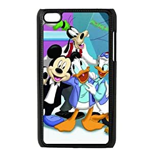 iPod Touch 4 Cell Phone Case Black Disney Mickey Mouse Minnie Mouse AFT838899