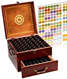 MP Has Created The Largest Essential Oil Box What makes this Essential Oil Box larger than all the rest on the market? Of course, its tiered design. This Carrying Cases has an additional lower drawer that offers a capacity larger than any other Essen...