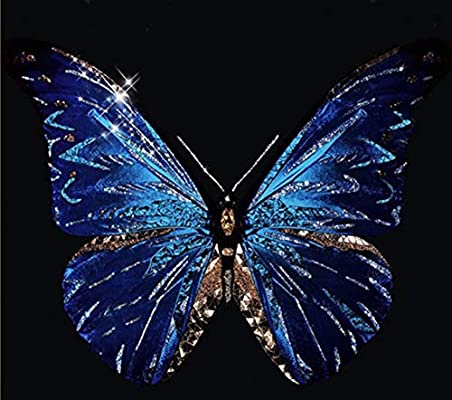 UK Butterflys Rabbit Full Drill 5D Diamond Painting Embroidery Cross Stitch QW