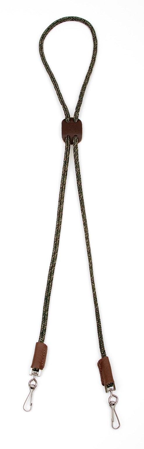 Mendota Pet Dog Whistle Lanyard, Double, Camo, 1/8 x 25-Inch