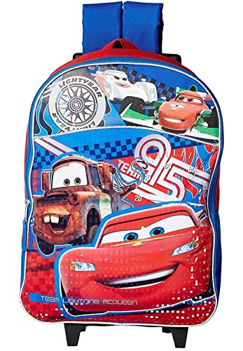 Disney 16 inch Kids Roller R2c Backpack, Cars by Disney