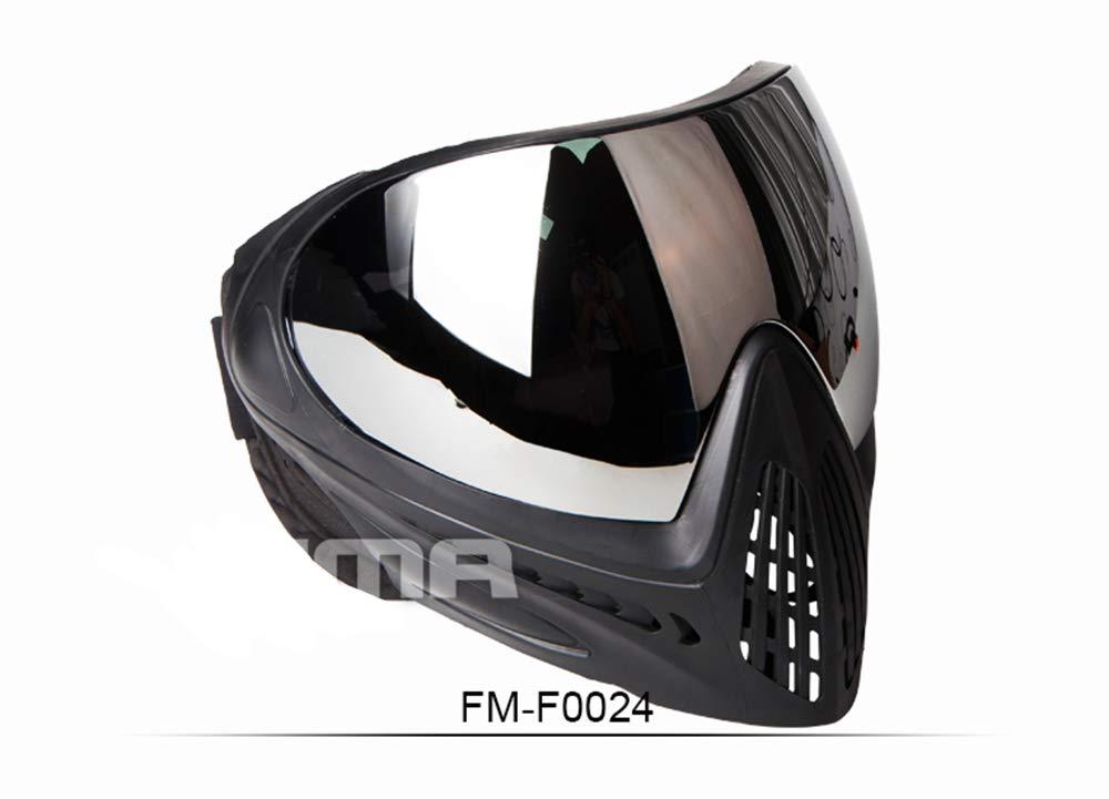 FMA F1/Paintball Airsoft de s/écurit/é Anti-bu/ée pour Masque de Ski Masque Complet