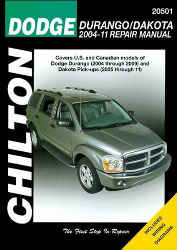 amazon com chilton repair manual for dodge durango 2004 06 and rh amazon com 2010 Dodge Durango 2010 Dodge Durango