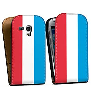 Diseño para Samsung Galaxy S3 Mini I8190 DesignTasche Downflip black - Luxemburg