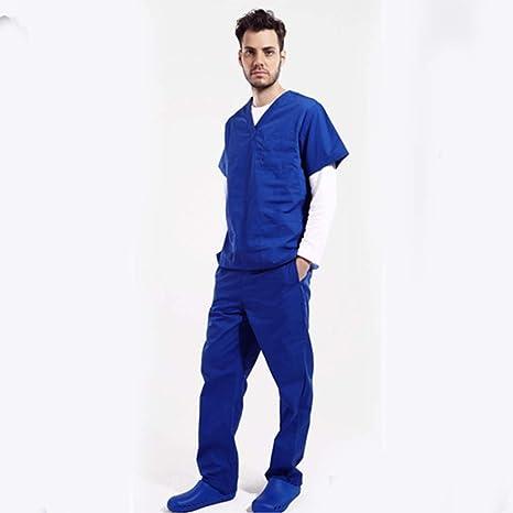 OPPP Ropa médica Nuevo enfermero médico Uniforme Meidcal Scrub Sets Hospital Ropa quirúrgica Aislamiento Uniformes Batas