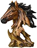 StealStreet SS-UG-PY-266 Collectible Horse Bust Figurine