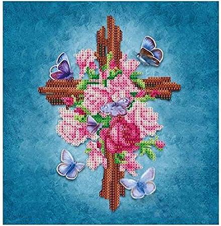 Blu 35 cm x 35 cm PANGHU Reg; 5D Diamante Ricamo Dipinti Stagioni Albero Kit Fai da Te Punto Croce Decorazioni per la casa