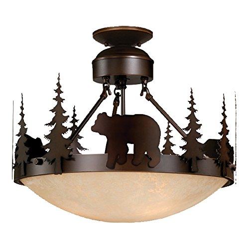 Montana Semi-Flush Ceiling Light