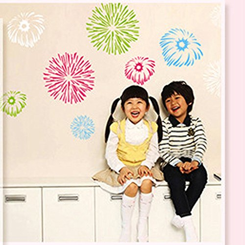 brooke-celine-wall-stickers-colorful-fireworks-christmas-new-year-decoration