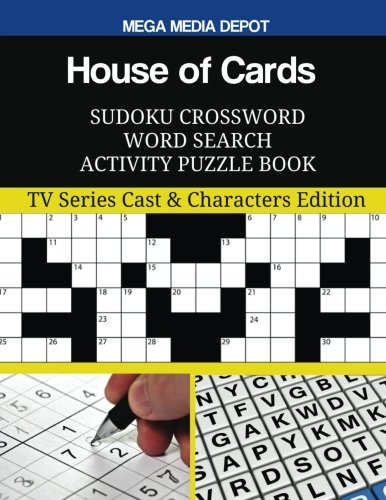 Amazon com: House of Cards Sudoku Crossword Word Search Activity