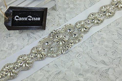 Cintos bordados para vestidos de novia