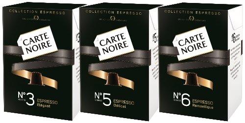 carte noire no 9 intense espresso coffee capsules 2 x 10 packs nespresso compatible office. Black Bedroom Furniture Sets. Home Design Ideas