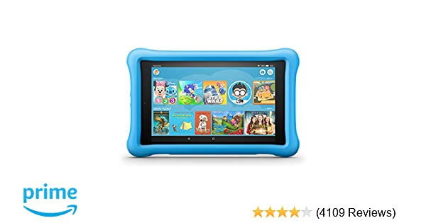 "01a9a378e99e Amazon.com: Fire HD 8 Kids Edition. Up to 10 hours of battery | 2x the  storage | 8"" HD display"