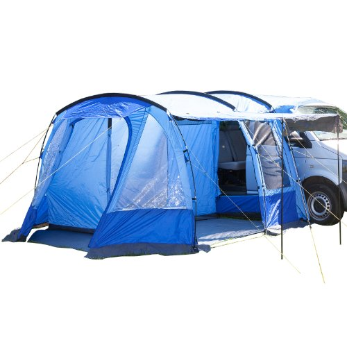 Skandika Waterproof Aarhus Unisex Outdoor Minivan Tent available in Blue - 2 Persons by Skandika