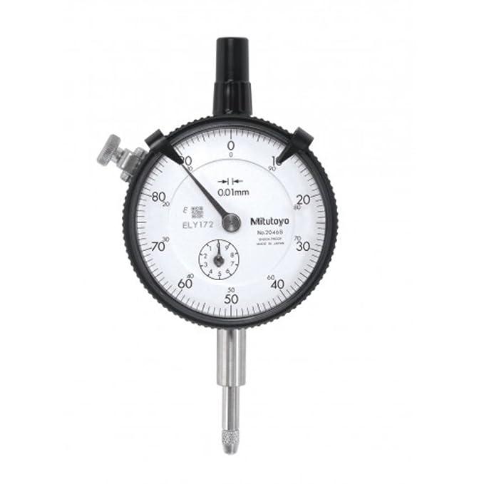 10/mm 40111963 Feinzeiger//Messuhr mit Magnetfu/ß Messbereich 0