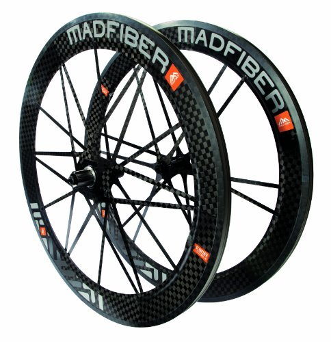 Mad Fiber Clincher Wheelset w/ Campagnolo Freehub Steel Bearings [並行輸入品] B072Z72PHZ