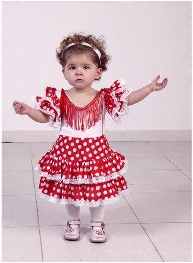 Disfraz de Flamenca para niña de 5 a 6 años: Amazon.es: Juguetes y ...