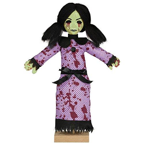 Amscan 242337 Mini Standing Possessed Girl Decoration, Multicolor -