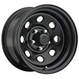 Trailmaster TM9-5865F TM9 Steel Wheel; Size 15X8 ;Bolt Pattern: 5x4.5 ;Back Space 3.75 in.; Finish Flat Black;