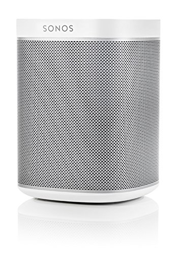 Sonos PLAY:1 All-In-One Wireless Speakers with Flexson Premium Floor Stands - Pair (White) by Sonos (Image #3)