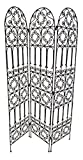Moroccan Room Divider Screen Wrough Iron Metal Separated Separation Partition Medium