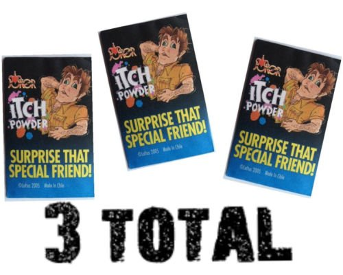 Unbranded (3) Itch Itching Powder Packages ~ Prank Joke Trick Gag Funny Joke Trick Magic