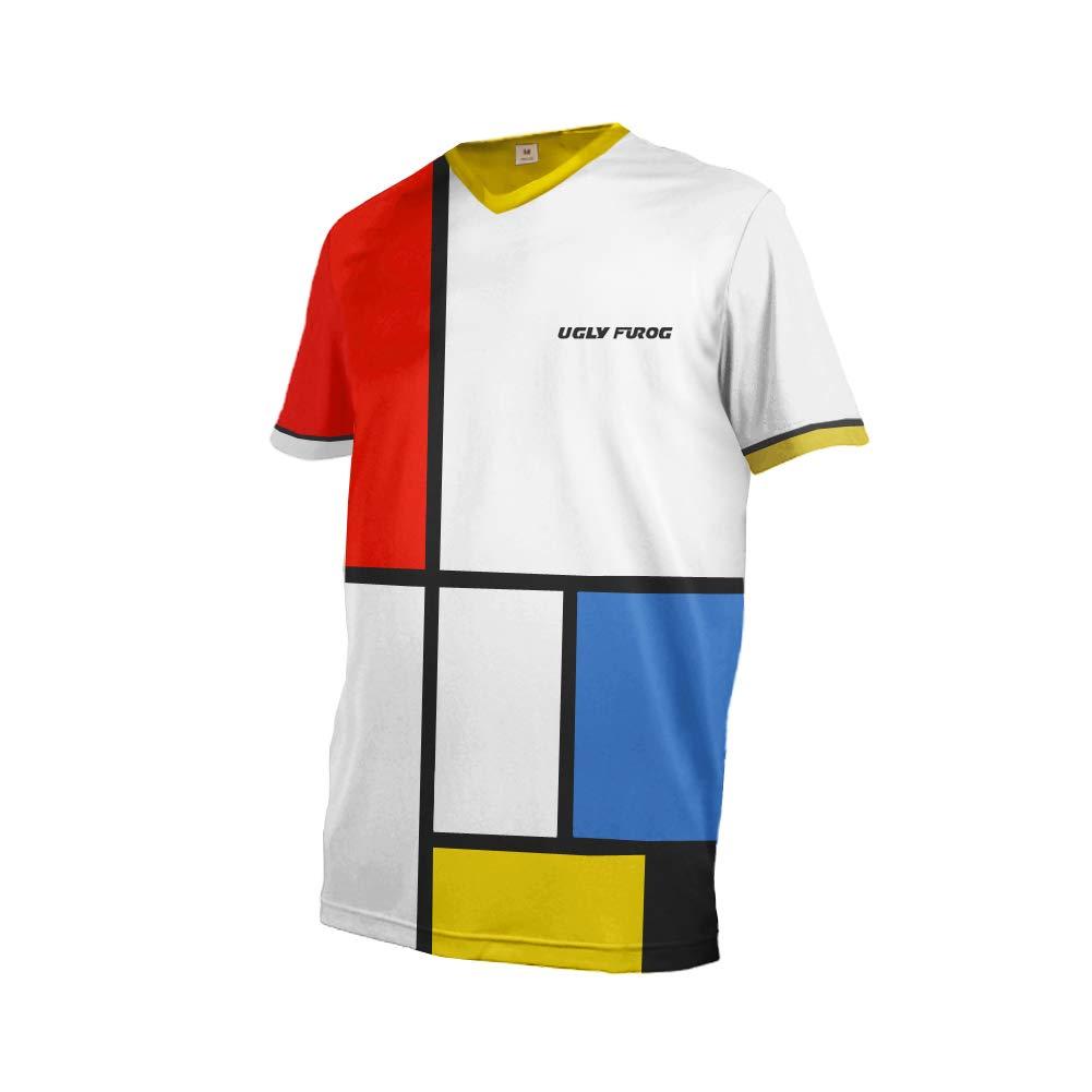 Uglyfrog Element Racewear MX Motocross Downhill Jersey Shirt Enduro Offroad Motorrad Quad Cross Erwachsene Kurz/Langarm für Sommer/Frühling/Herbst