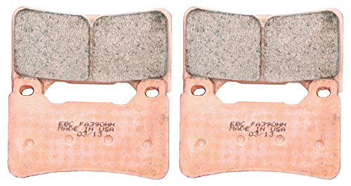 EBC Brakes EBPCK2001 Front Double-H Sintered Brake Pad Change Kit