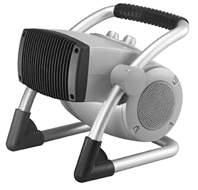 Air King 8900 Ceramic Heater with Pivoting Head and Adjustable Thermostat