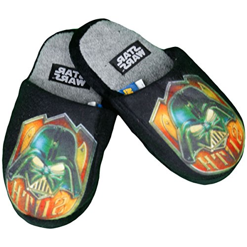 Star Wars Par de zapatilla impreso Star Wars Boy Negro