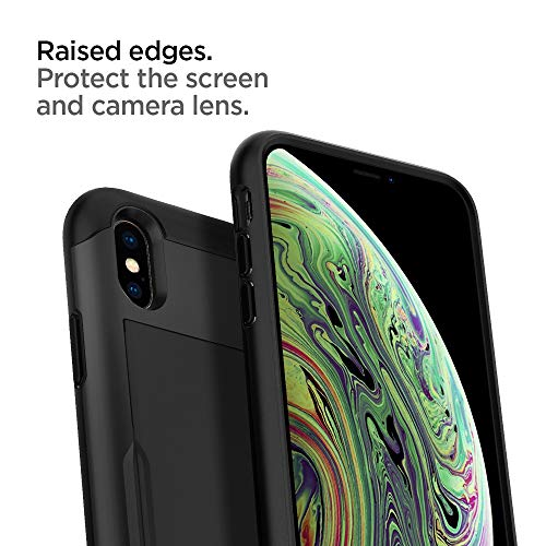 - Black 2017 2018 Spigen Slim Armor CS Designed for iPhone Xs Case // Designed for iPhone X Case