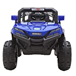 Baybee Hunk Electric Ride on Car for Kids with Rechargeable 12V Battery, Music, Lights Baby Toy Cars with R/C Motor Jeep Children Racing Car for Boys & Girls Age 2 to 8 Years (Blue)