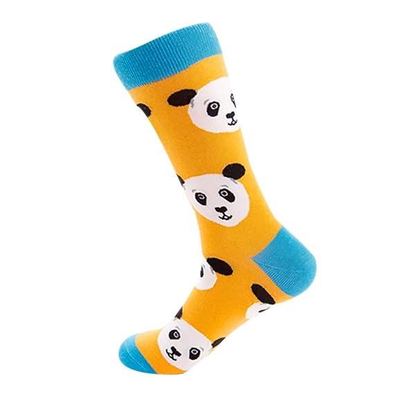 ... Termicos Algodon Calcetines De La Mujer De Otoño De Animal En Tubo Calcetines Casuales De Algodón Calcetines De Skate: Amazon.es: Ropa y accesorios