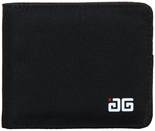 AfterGen Unisex Adult Morgan Wallet Minimalist Bifold Wallet, Black