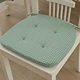 CCYYJJ Large Mirrors Four Seasons With Cordial Ties Cushion Of Chair Seat Cushion Home Office Carrying Case For Chair-Green 40X40Cm(16X16Cm)