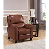Amax Leather Encore Leather Recliner, Brown