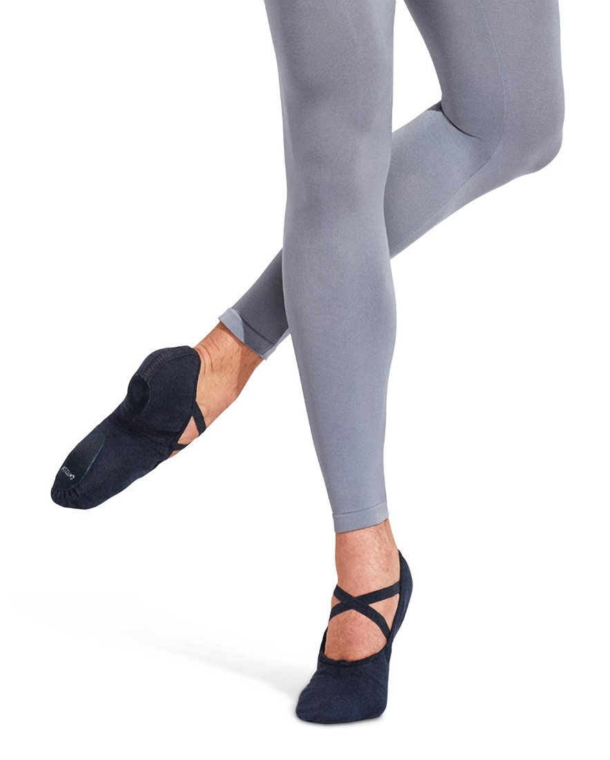 Capezio Men's Canvas Romeo Ballet Shoe,Black,11 W US by Capezio