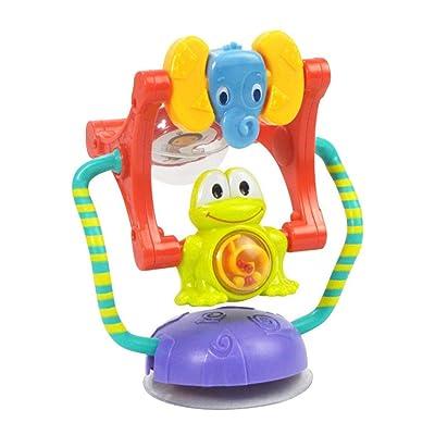 nurrat Baby Cartoon Animal Ferris Wheel Rattle Sucker Toy Intelligence Development Darts: Toys & Games [5Bkhe1803891]