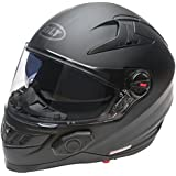 Bilt Techno 2.0 Bluetooth Helmet (L, Matte Black)