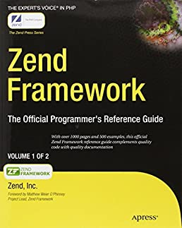 zend framework the official programmer s reference guide expert s rh amazon in Zend Optimizer 3.3 Zend Optimizer