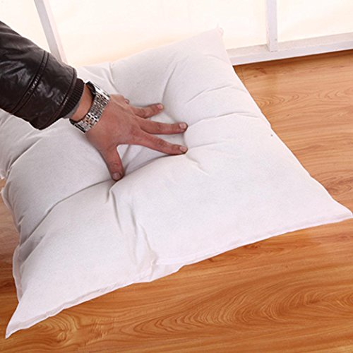 LtrottedJ Standard Pillow, Cushion Core Pillow interior Home Decor White by LtrottedJ