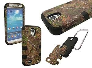 Nue Design Cases TM High Impact Rugged Hybrid CAMO TREE PATTERN (Samsung Galaxy S4 SIV i9500) Silicone & PC Case