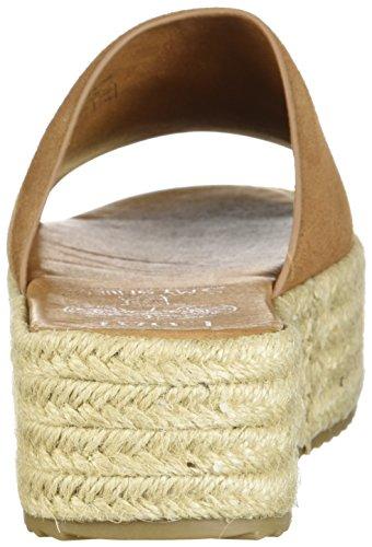 Sandalo Sandalo Con Zeppa Espadrillas Da Donna Coolway, Marrone Chiaro